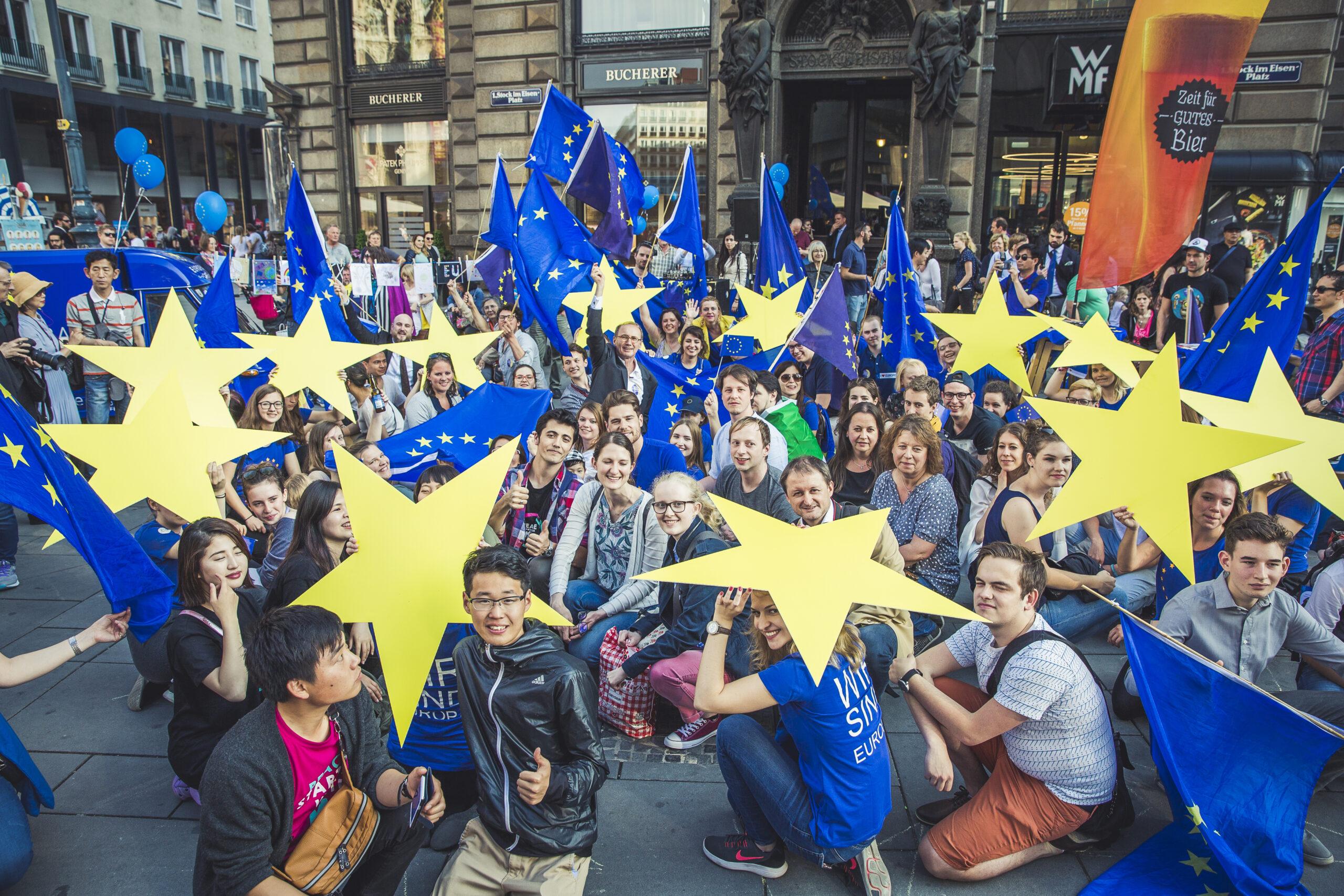 BGF_EU Sterne Gruppenfoto